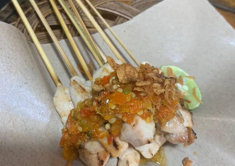Sate Taichan bakar teflon