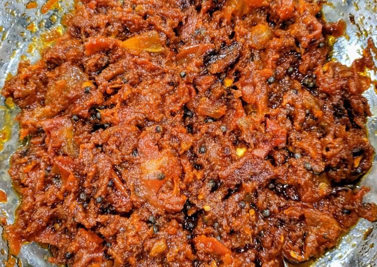 Tomato Pachadi (Tomato pickle)