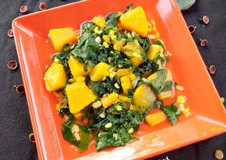 Sayur Bening Cangkok,Labu & jagung