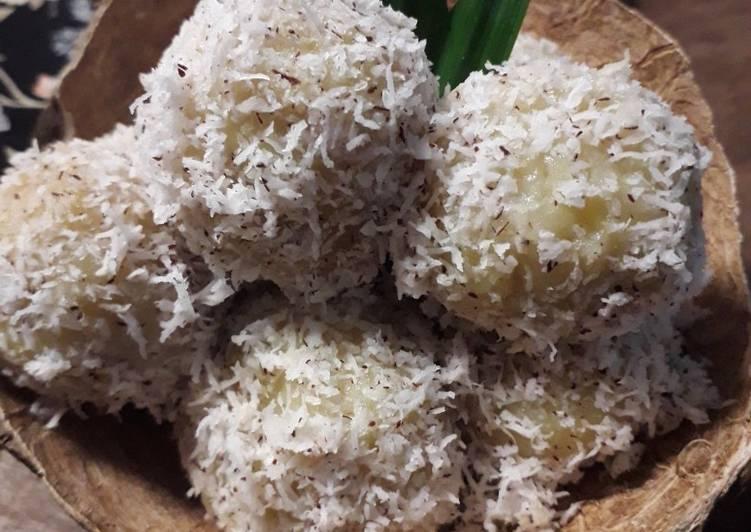 Klepon Ubi Jalar/ Mantang /Ubi Rambat - cookandrecipe.com