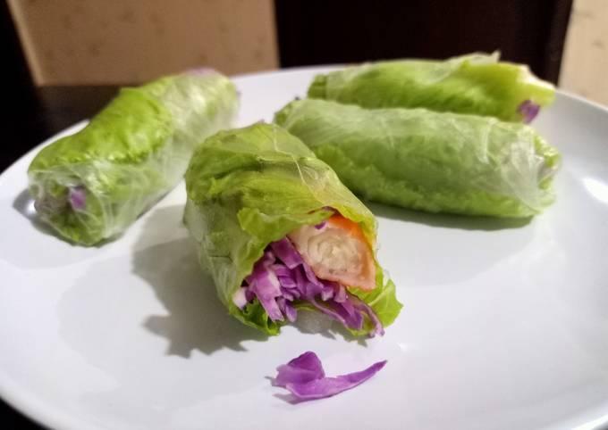 Roll Spring simple buka puasa untuk diet