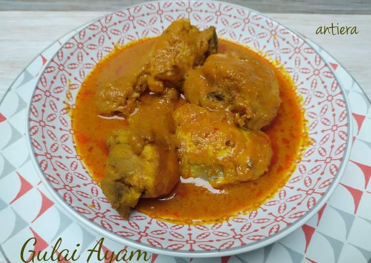 Resep Gulai Ayam yang Sempurna