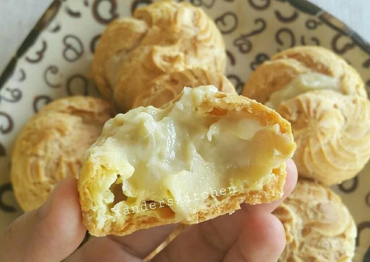 Resep Kue Sus vla Durian, Sempurna