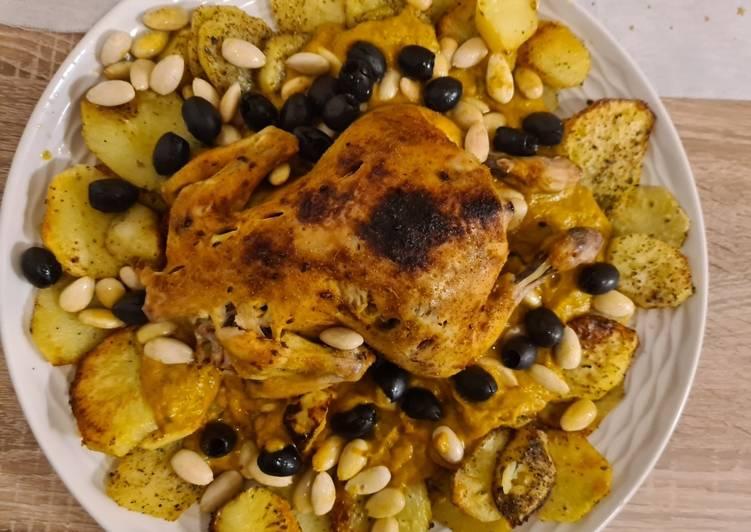 Rezept: würzig Marokkanisches Hähnchen