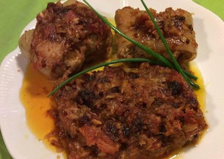 Paupiette de veau à l'italienne