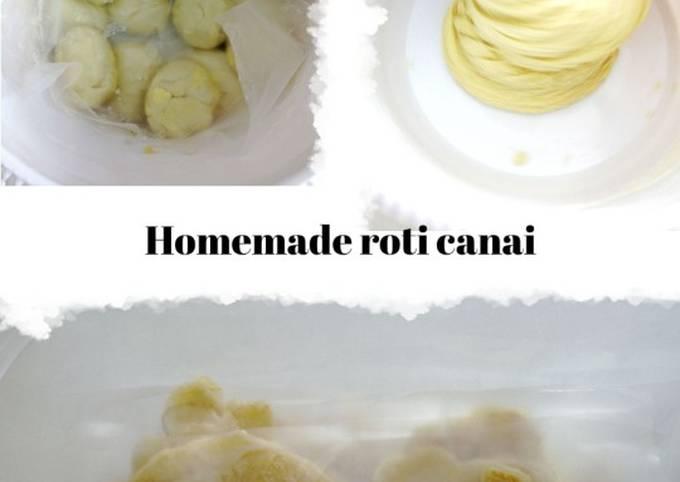 Roti canai homemade