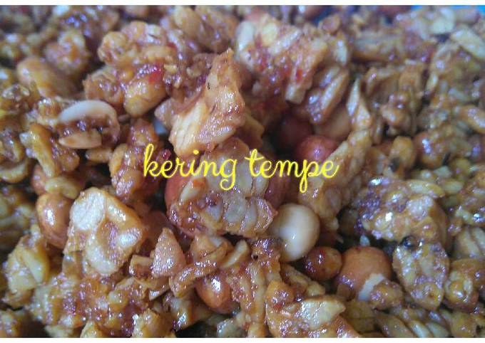 sambal goreng kering tempe ekstra pedas - resepenakbgt.com