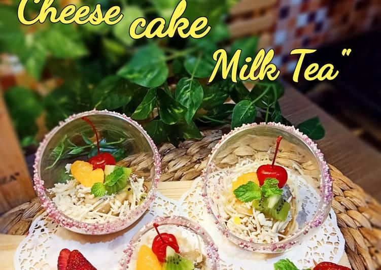 Cheese cake Milk Tea
