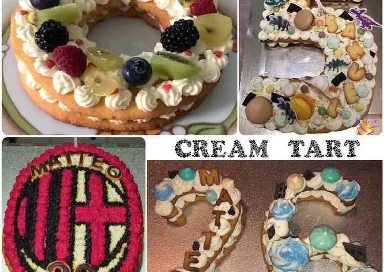 Cream tart 🍫