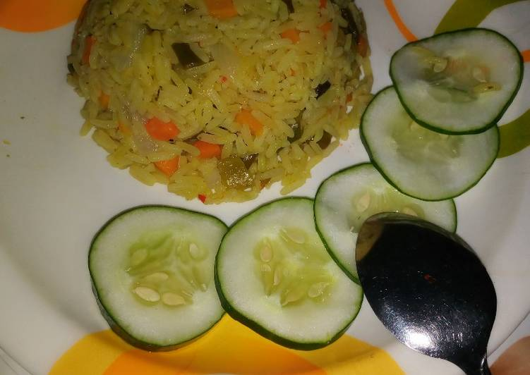 5 Minute Step-by-Step Guide to Prepare Diet Perfect Fried Rice