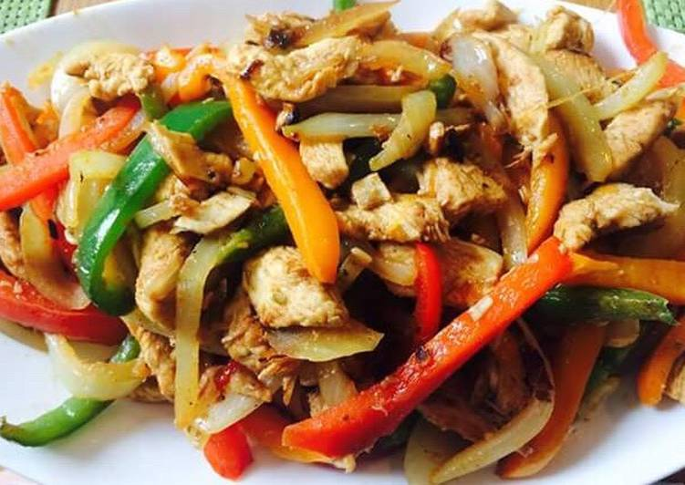 Step-by-Step Guide to Make Perfect Satay Chicken and vegetables