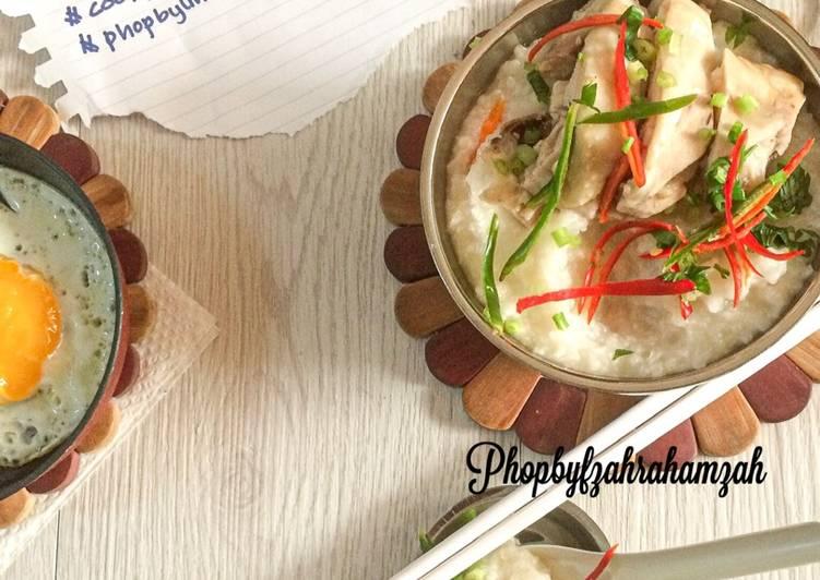 panduan masak bubur ayam sempoi enak dilidah resepiayamnet Resepi Maggi Ketam Kelantan Enak dan Mudah