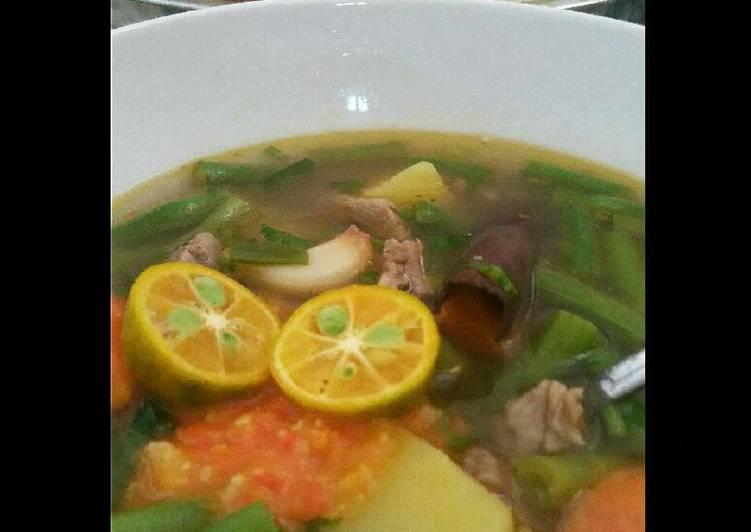 Sop Sapi Rempah (tidak bau, daging super lembut)