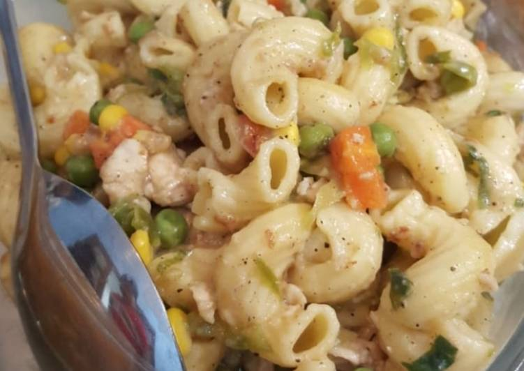 Easiest Way to Prepare Perfect Chicken vegetable pasta