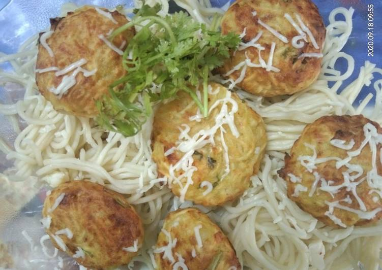 What are some Dinner Ideas Refreshing Cheese  Noodles  Cutlet