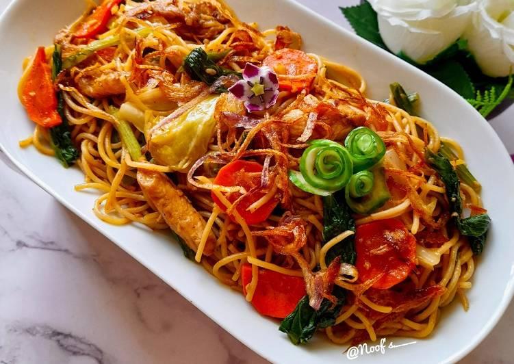 Capellini Goreng Jowo ala Chef Noof