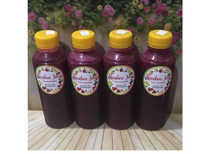 Diet Juice Strawberry Blackcurrant Pear Beetroot