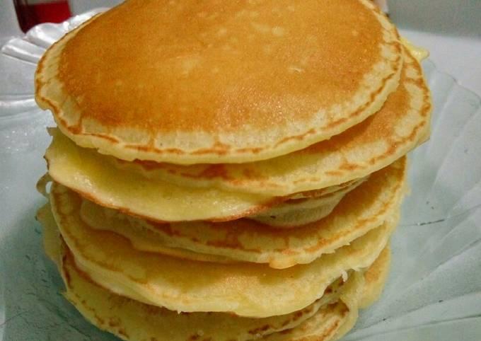Resep Pancake Sederhana Tanpa Baking Powder Dan Soda Kue Oleh Reni Novitasari Cookpad