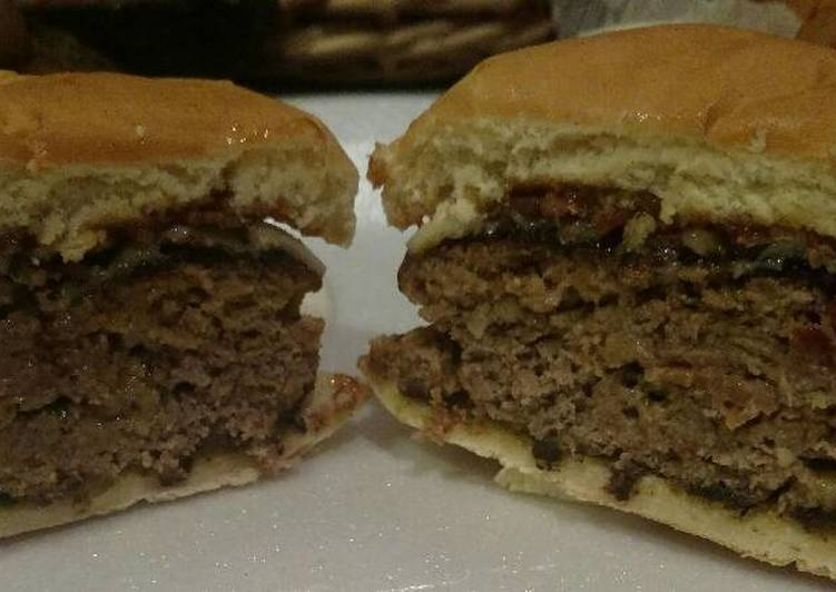 Recipe of Speedy Steakhouse Style Cheeseburgers