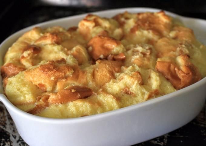 Basic Sweet Bread Pudding Recipe