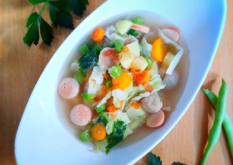 Sup Bakso Sosis