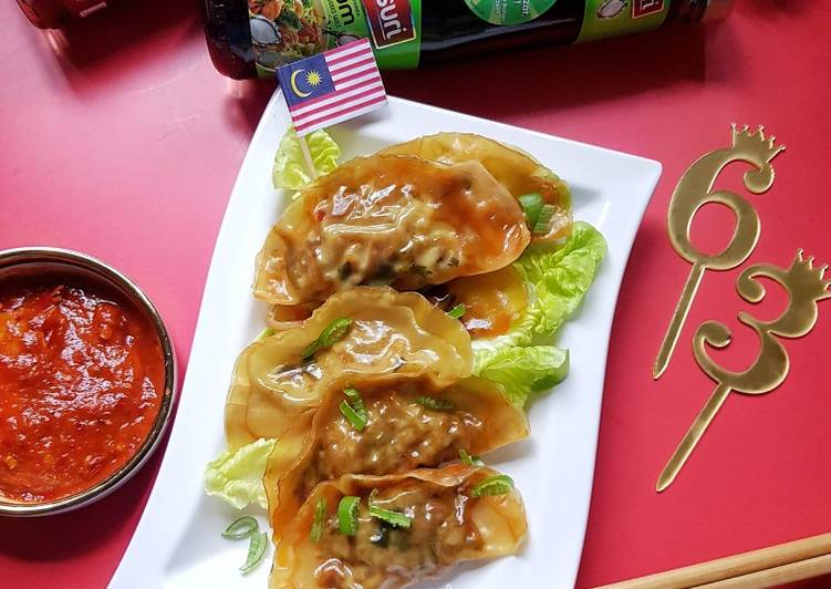 Dumpling Inti Sayur - resepipouler.com