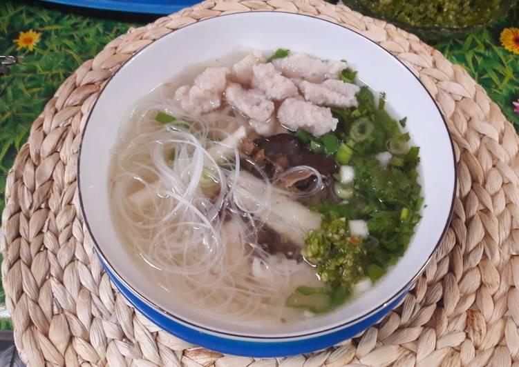 Tekwan Ikan Tenggiri Khas Palembang