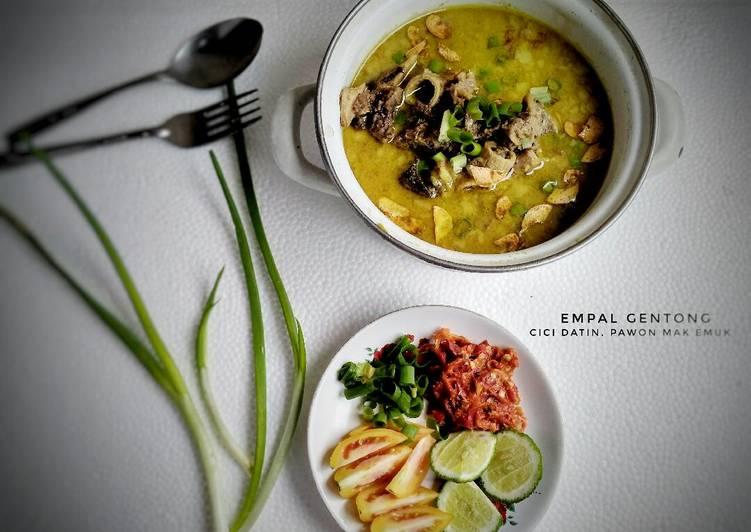 Resep Empal Gentong enak