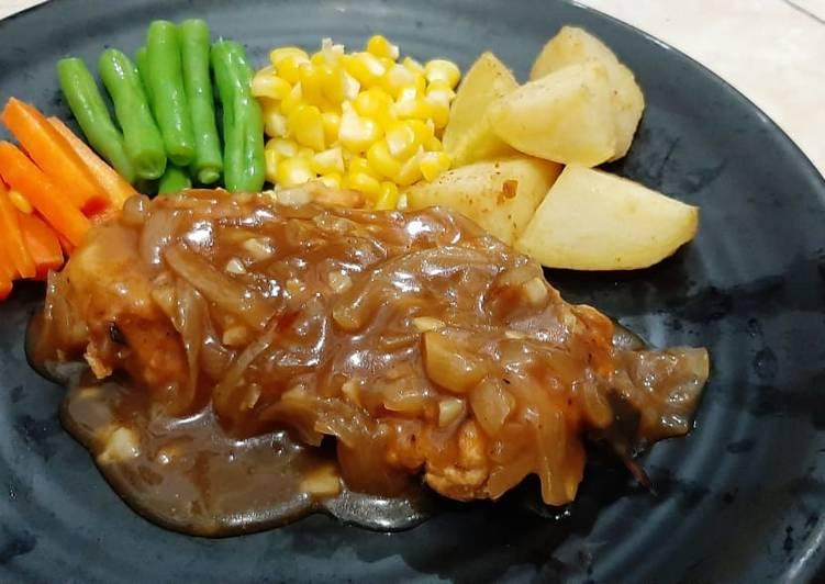 Chicken steak crispy
