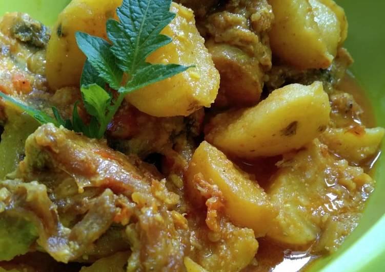 Cara Memasak Kari ayam pedas simpel