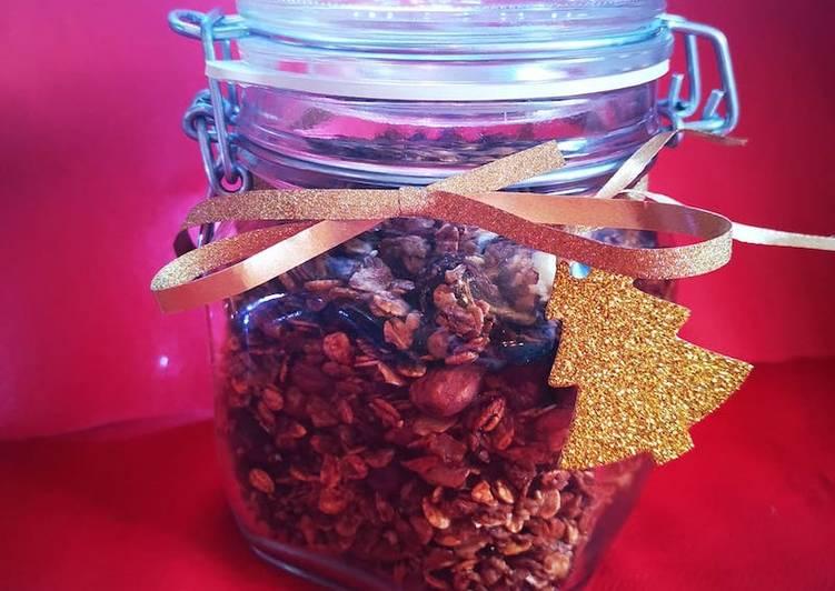 Muesli maison aux saveurs de Noël sans gluten