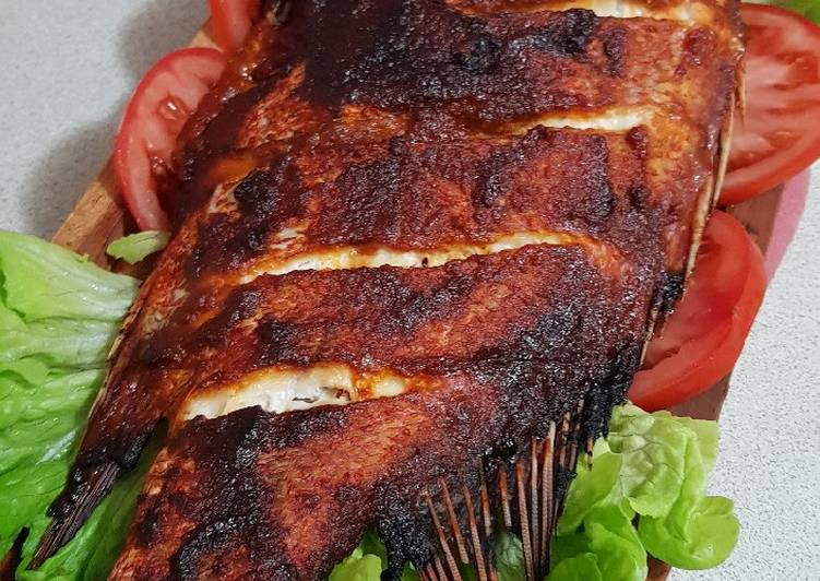 Step-by-Step Guide to Make Favorite Jimbaran grilled red snapper fish