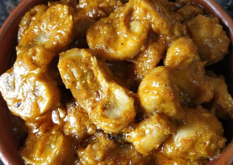 Mushroom butter masala
