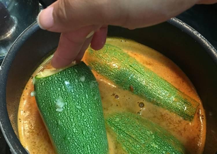 How to Cook Yummy Stuffed Calabaza (Squash)