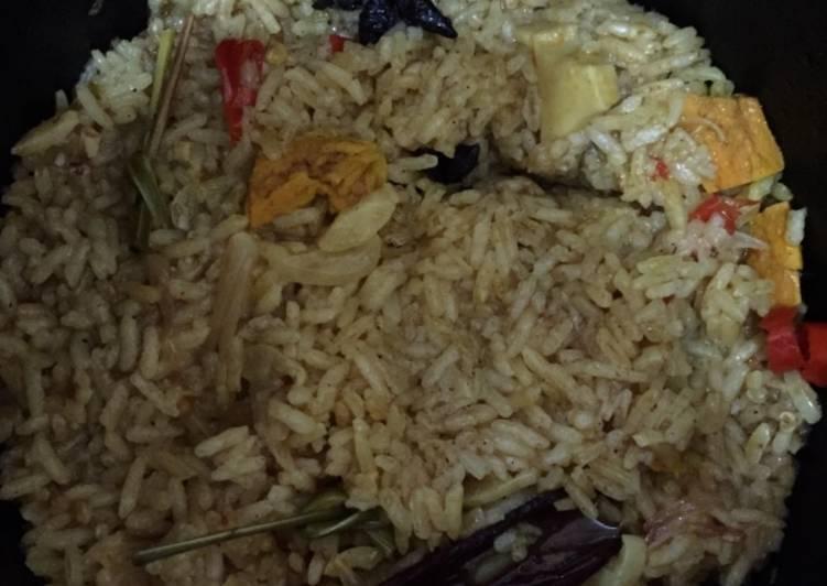 Nasi Bumbu Kari (Briyani)