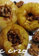 manzanas asadas microondas para diabeticos