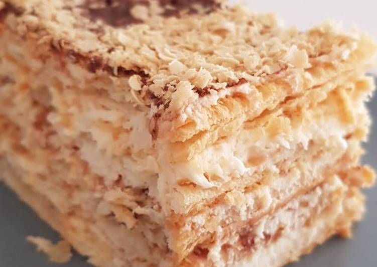 No Bake Cracker Cheese Layer Cake