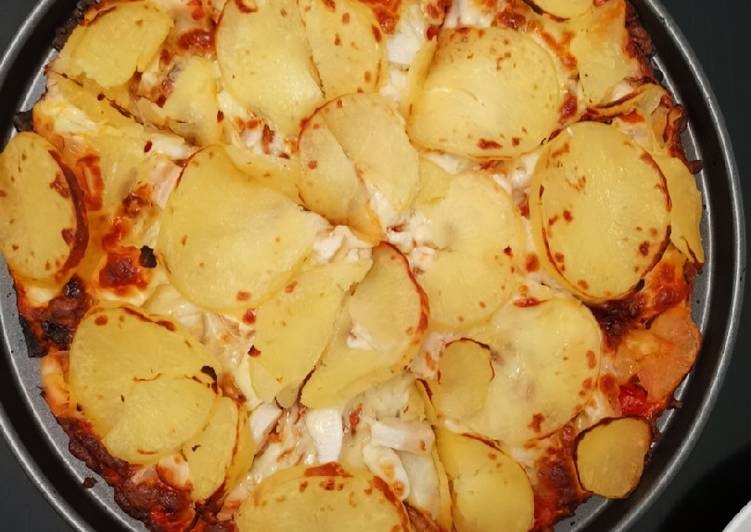 Recipe: Appetizing Pizza- Race Nite