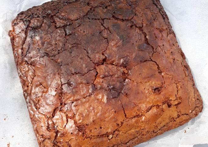 Brownie chocolat au lait et noix de pécan