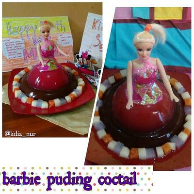 Resep Puding Barbie Coctail Oleh Mama Nadia Lidia Cookpad