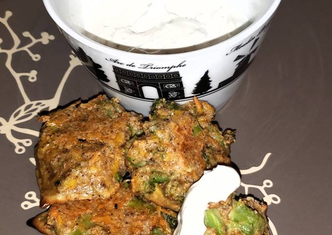 Low Carb Indian-Spiced Broccoli Bites