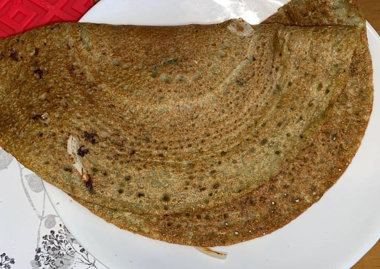 Green Lentil & Oat Crepe