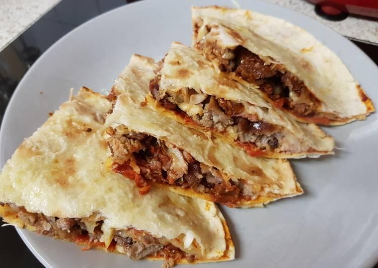 Easiest Way to Cook Tasty My Breakfast Quesadillas.😉