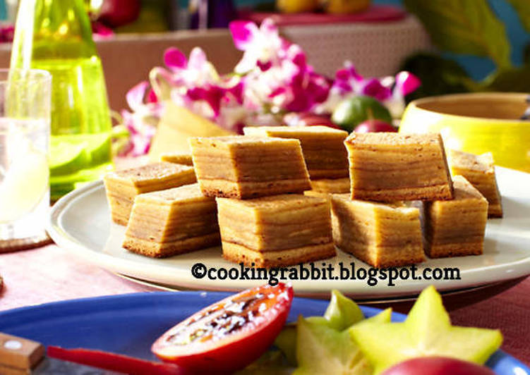 Kue Lapis Legit Recipe By Cooking Rabbit Cookpad
