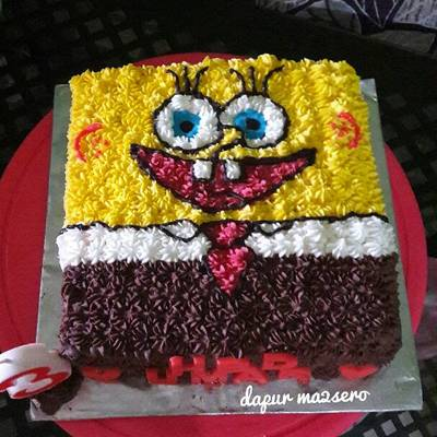 Kue Ulang Tahun Karakter Spongebob