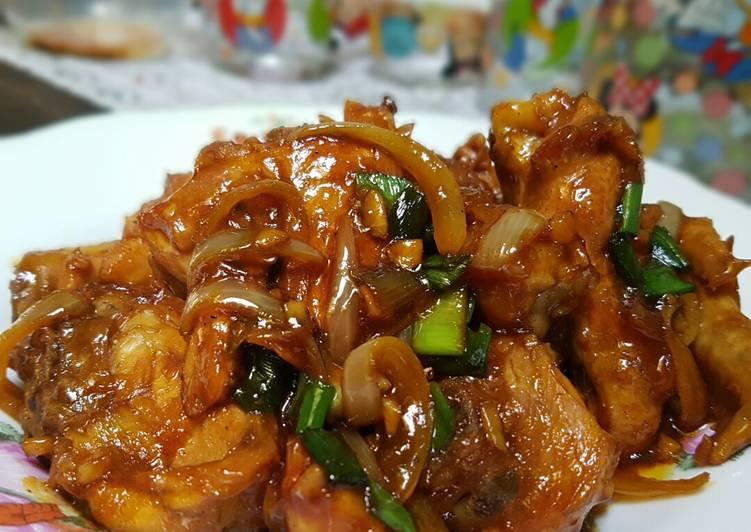 masak ayam mentega Resepi Masakan Ayam Berkuah Enak dan Mudah