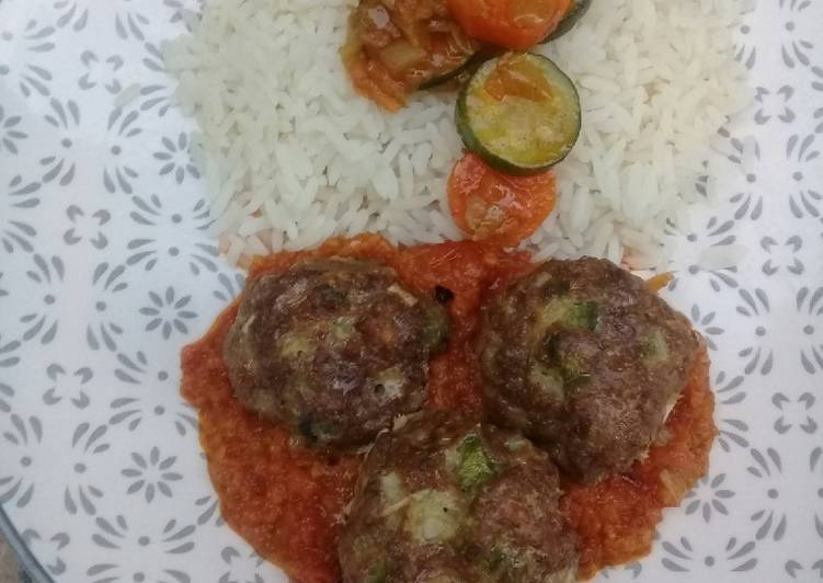 Grilled Meat balls