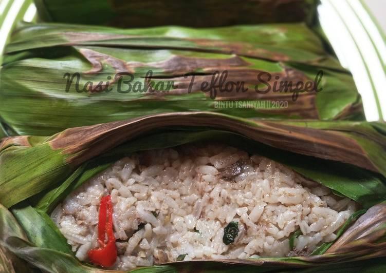 Nasi Bakar Teflon Simpel