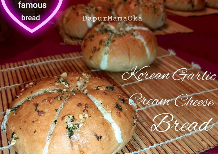 Resep Korean Garlic Cream Cheese Bread 🧀🧄 Favorit