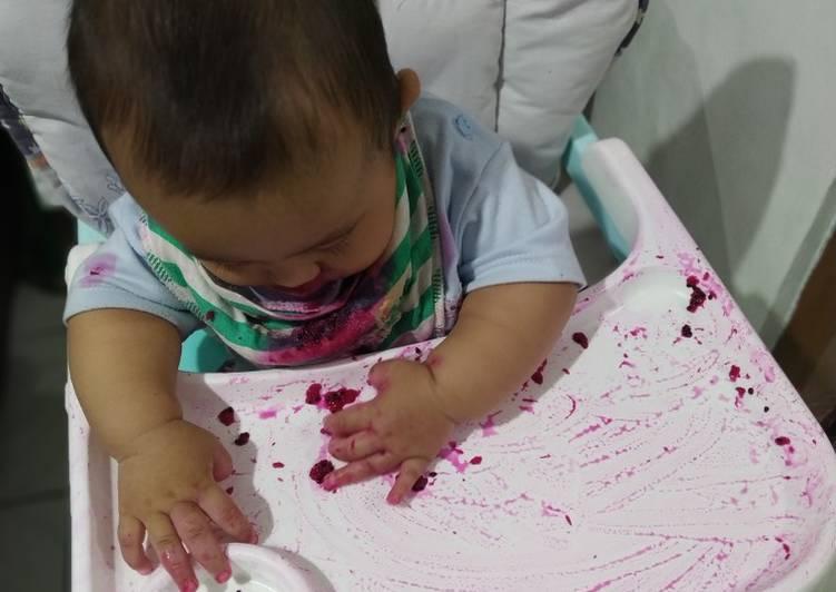 MPASI 6-8 bulan : Pure Buah Naga